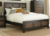 Segundo Brown Wood Bed