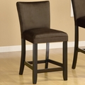 Bloomfield Chocolate Wood Pub Stool (Min Qty 2)