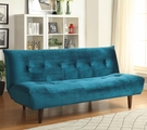 Blue Fabric Futon