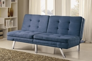 Blue Metal Sofa Bed