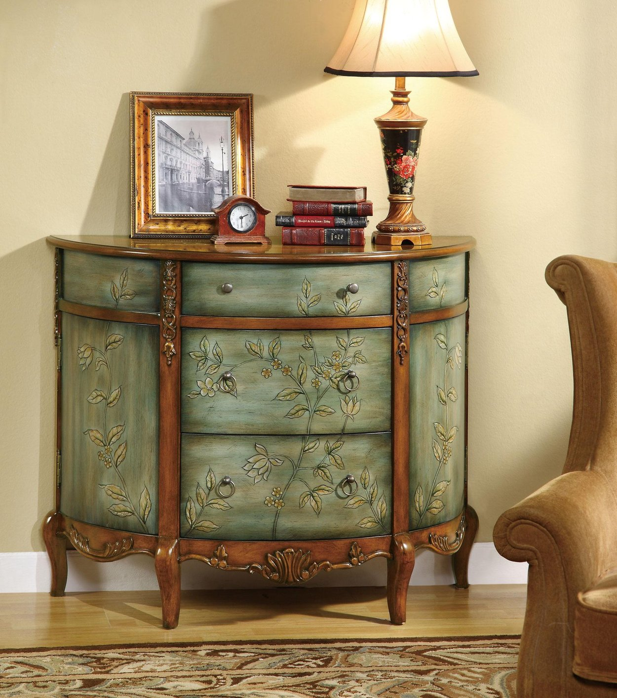 occasional room cabinet product cabinets living walentin accent blue