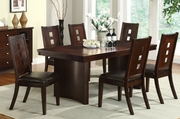 Bors 7pc Dining Table and Chair Set
