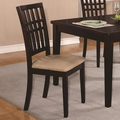 Brandt Dark Cherry Chairs (Min Qty 2)