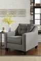 Brindon Grey Fabric Chair