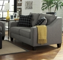 Brindon Grey Fabric Loveseat