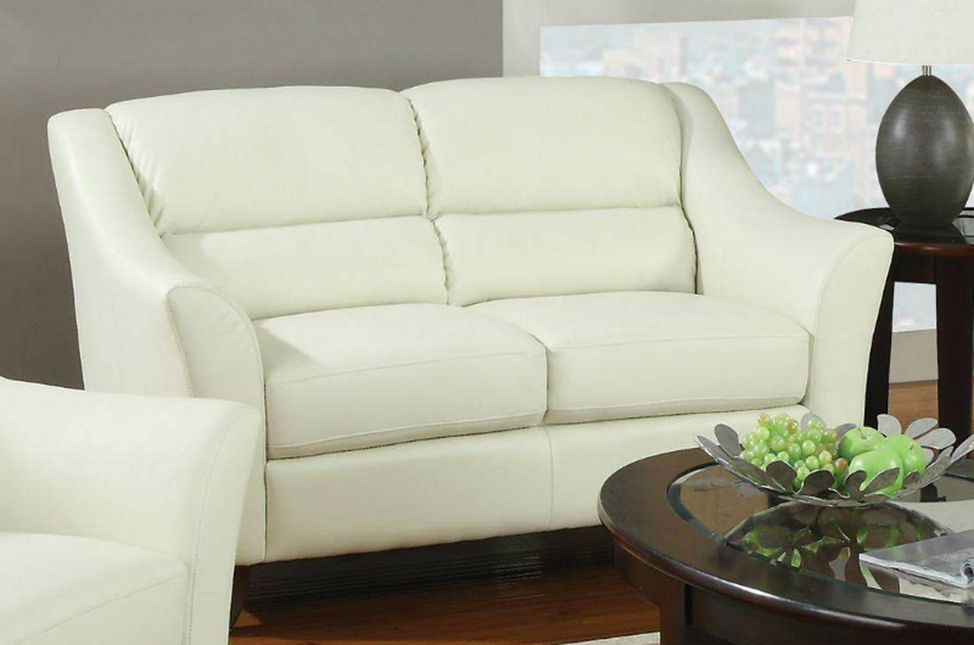 angeles loveseat outlet sofa furniture ivory los ca a coaster steal brooklyn