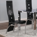 Broward Black Metal Chairs (Min Qty 2)