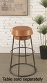 Brown Ceramic Bar Stool