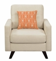 Brown Fabric Chair
