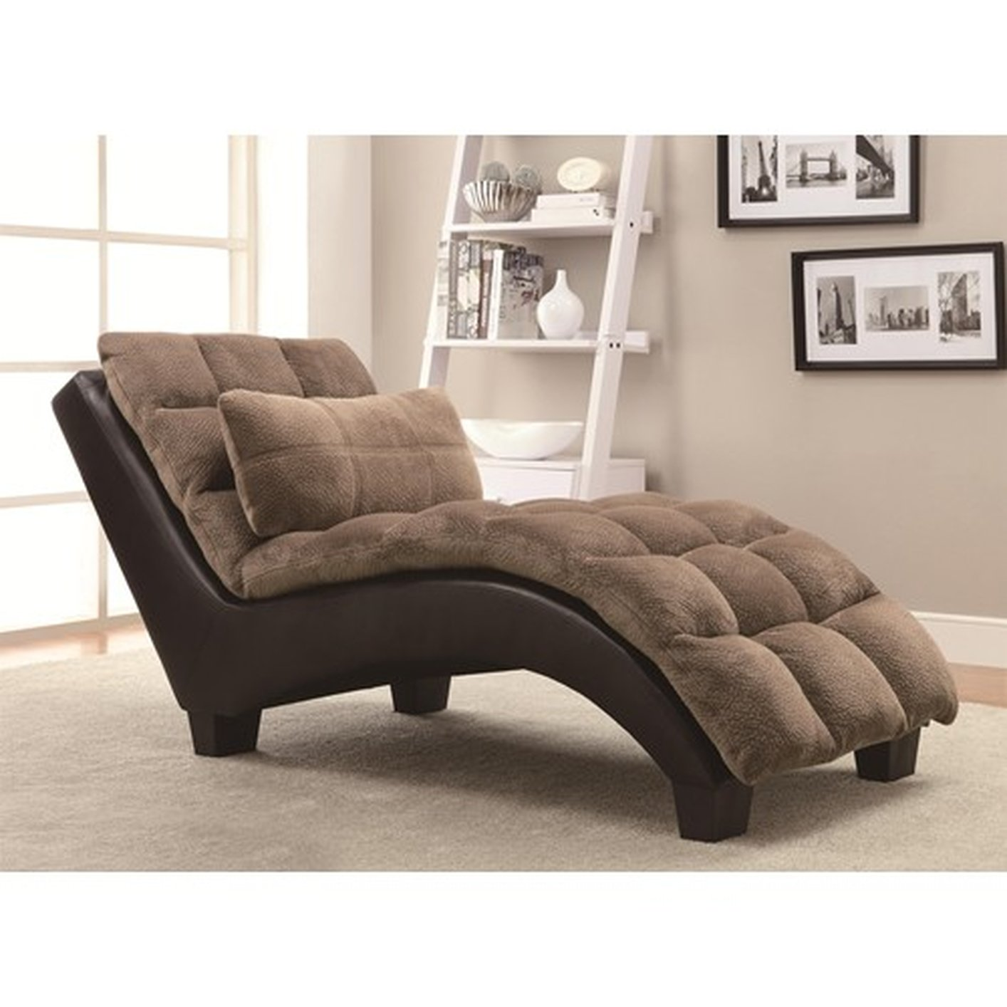 chaise chaises wolf brown and furniture klaussner gardiner products lounge by traditional
