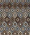 Brown Fabric Floor Rug