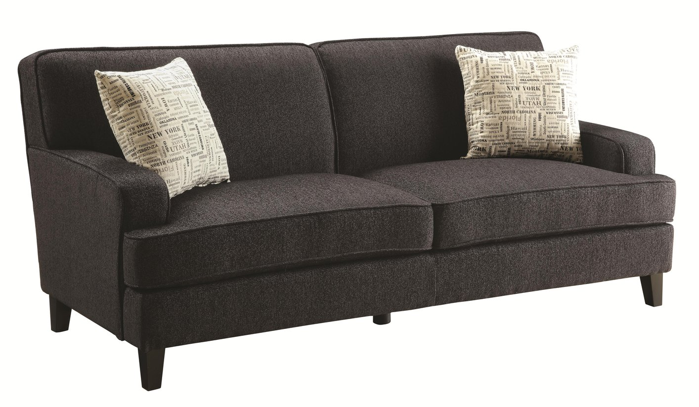 Brown fabric sofa fabric sofas sectionals costco thesofa for Brown fabric couch