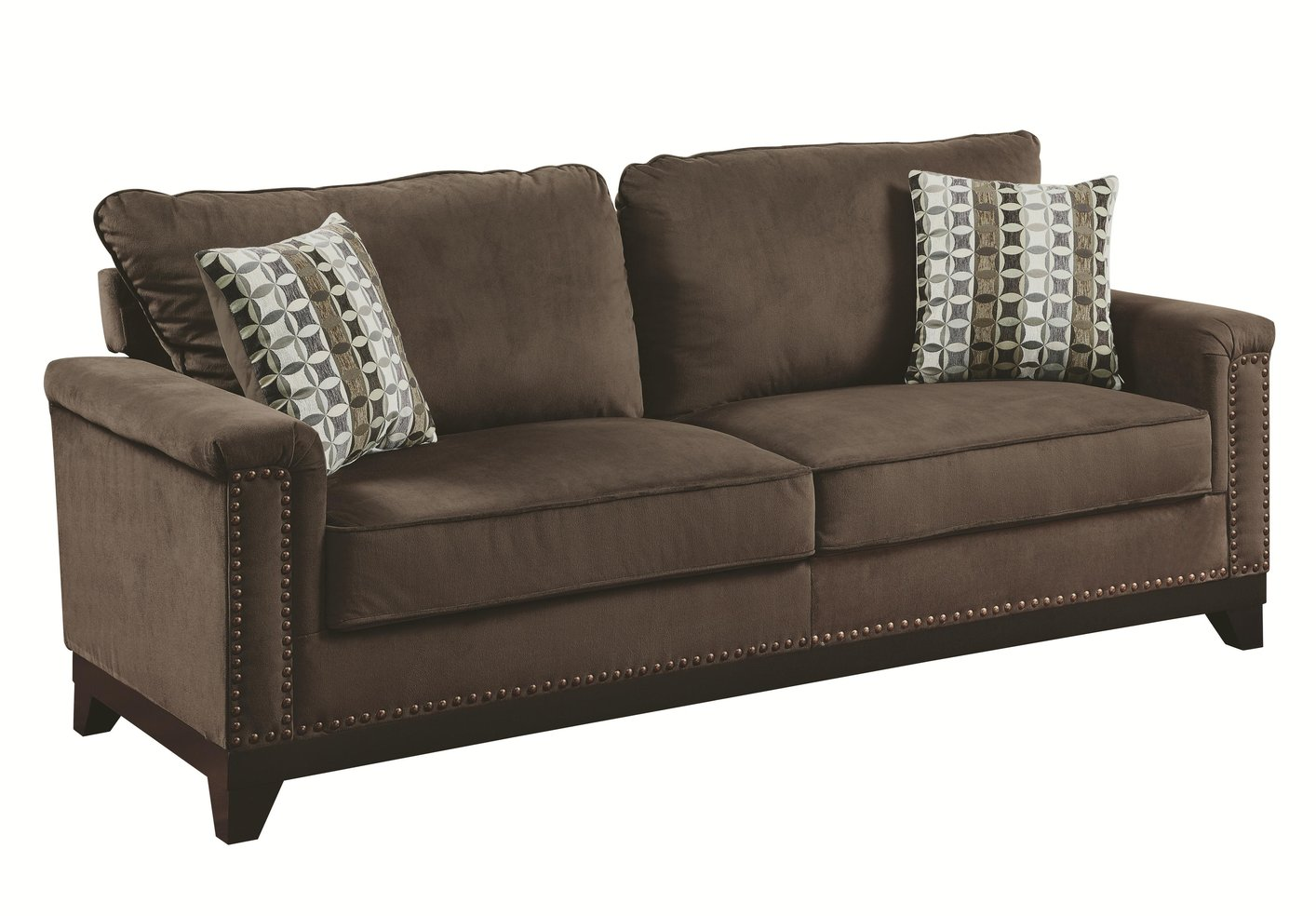 Brown Fabric Sofa Fabric Sofas Sectionals Costco