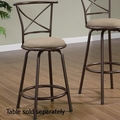 Brown Metal Stool
