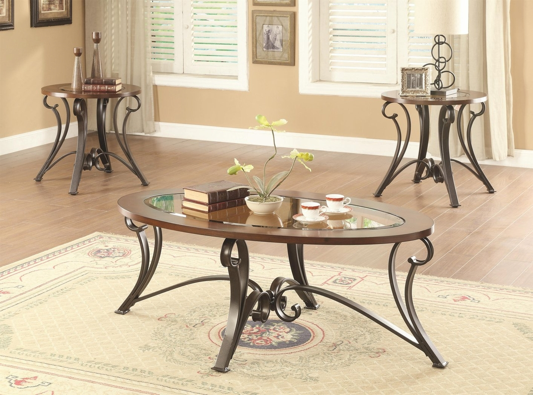 brown glass coffee table set steal a sofa furniture outlet los angeles ca. Black Bedroom Furniture Sets. Home Design Ideas