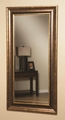 Brown Glass Mirror