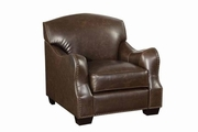 Chesapeake Brown Leather Chair