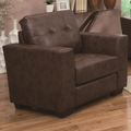 Enright Brown Leather Chair