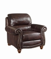 Lockhart Brown Leather Chair
