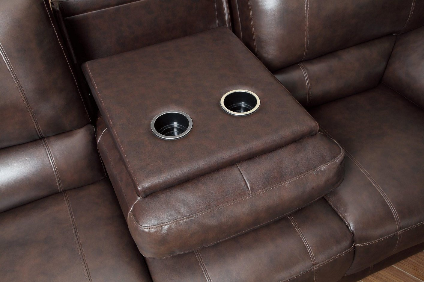 Brown Leather Power Reclining Sofa Steal A Sofa