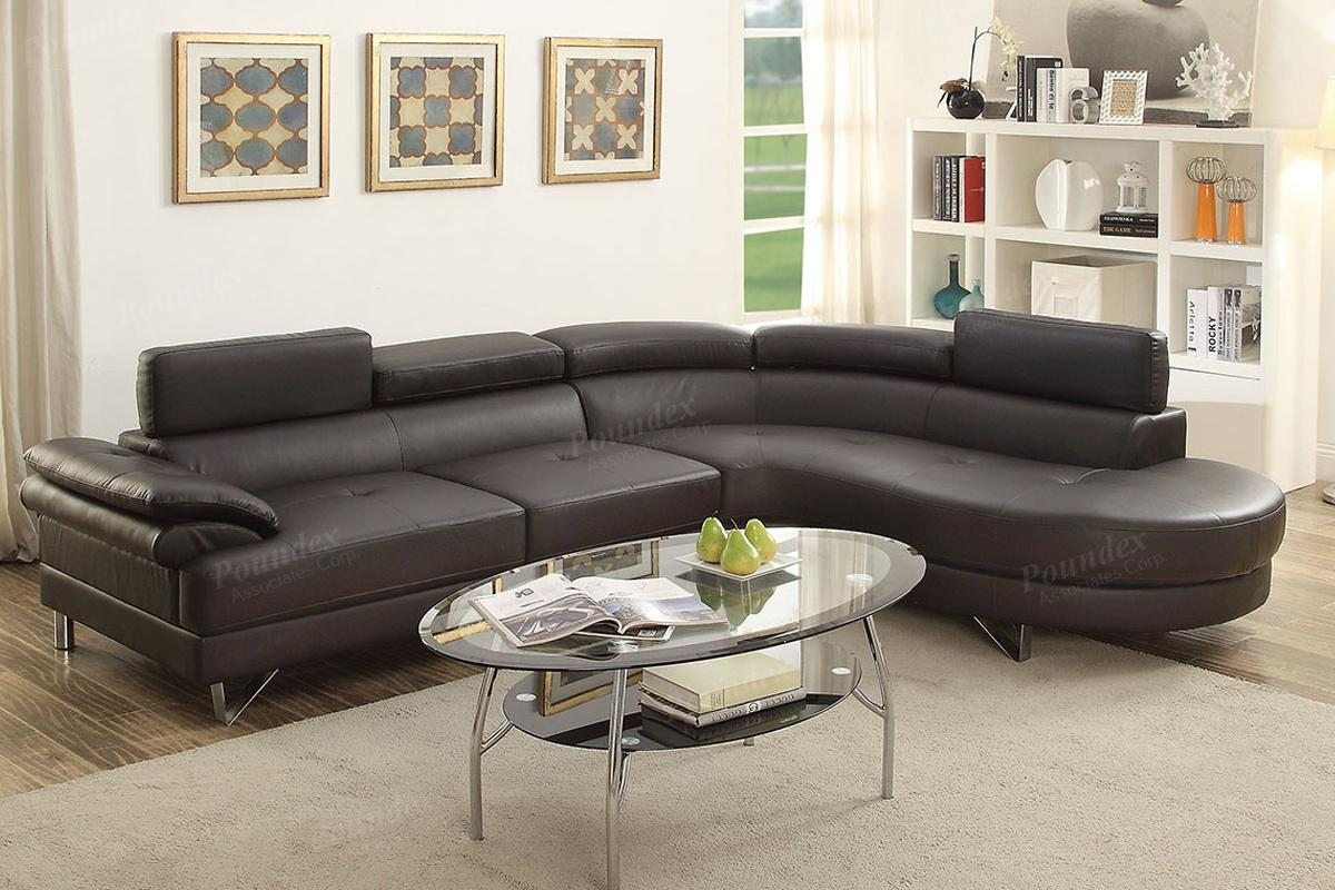 Brown Leather Sectional Sofa Steal A Sofa Furniture Outlet Los