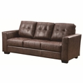 Enright Brown Leather Sofa