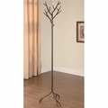 Brown Metal Coat Rack