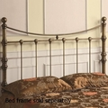 Brown Metal Headboard