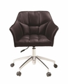 Brown Metal Office Chair