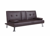 Brown Metal Sofa Bed