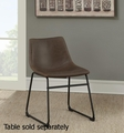 Brown Plastic Bar Stool