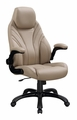 Brown Plastic Office Chair