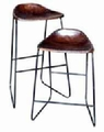 Brown Plastic Stool