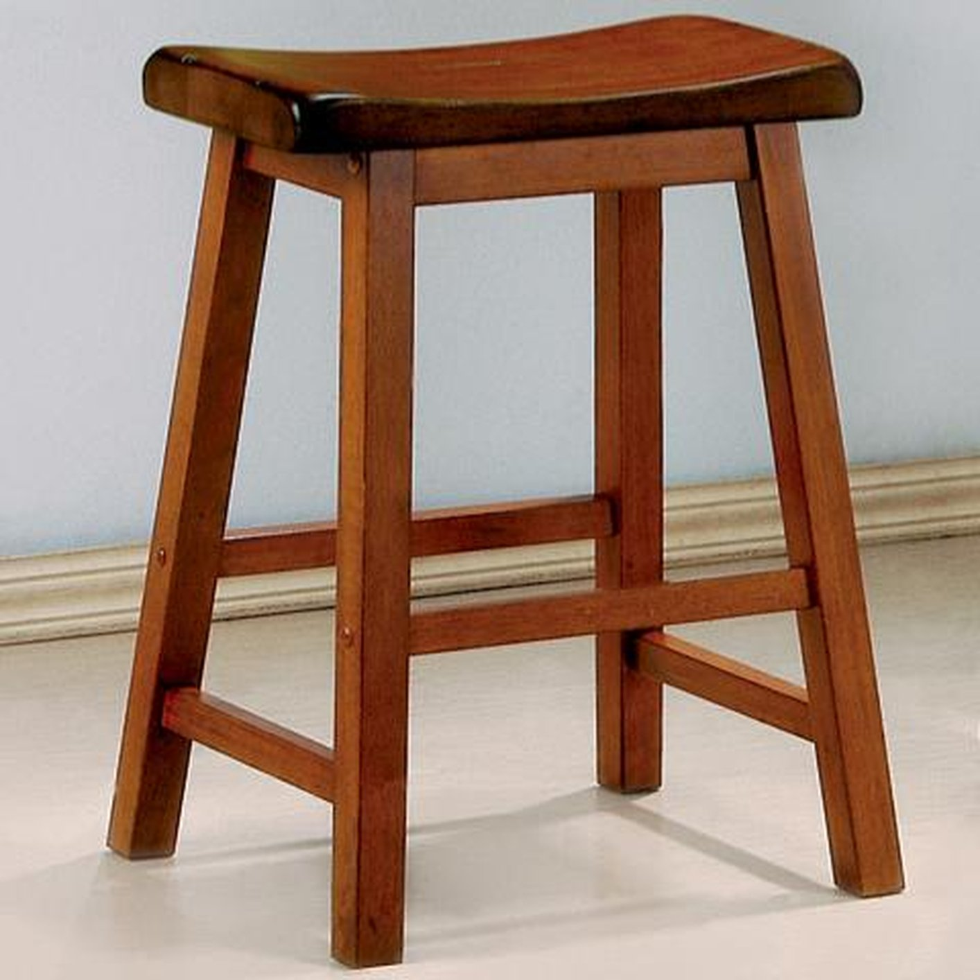 Wooden Furniture Stools ~ Brown wood bar stool steal a sofa furniture outlet los