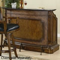 Brown Wood Bar Unit