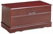 Brown Wood Cedar Chest