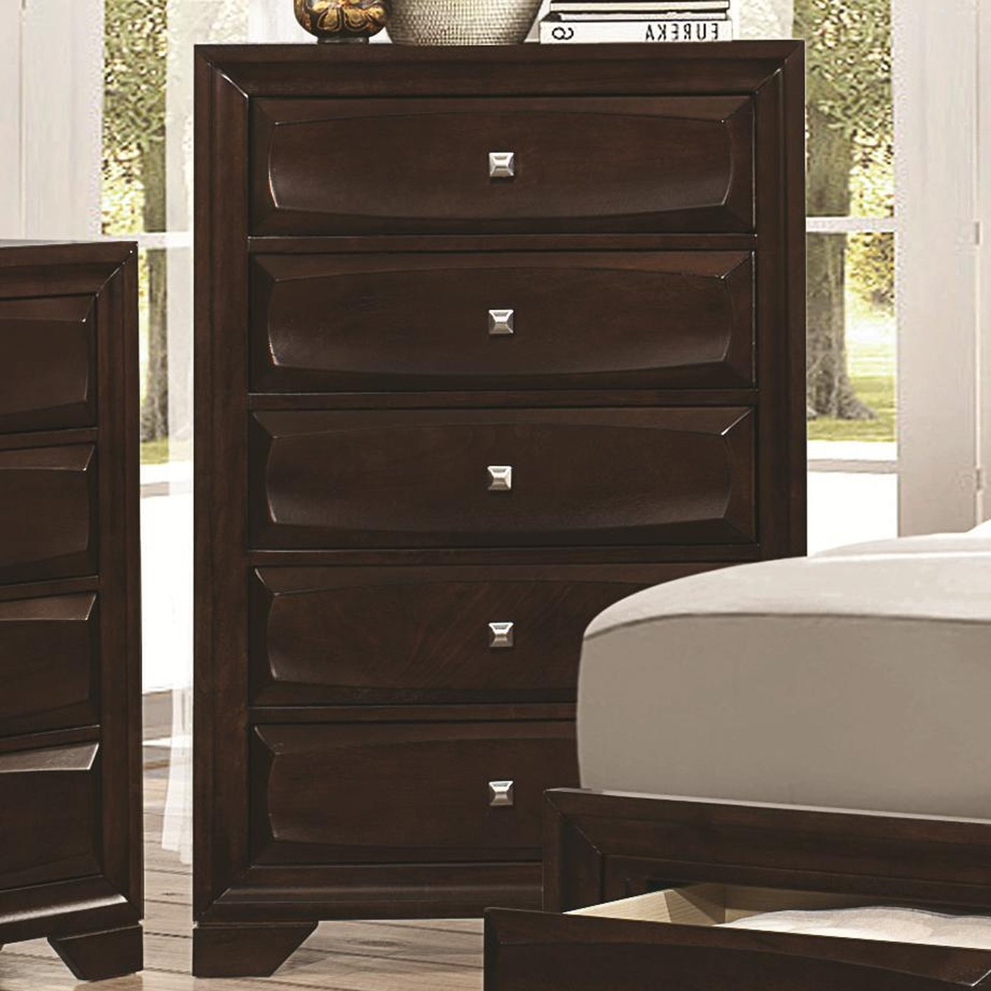Brown Wood Chest Of Drawers Steal A Sofa Furniture