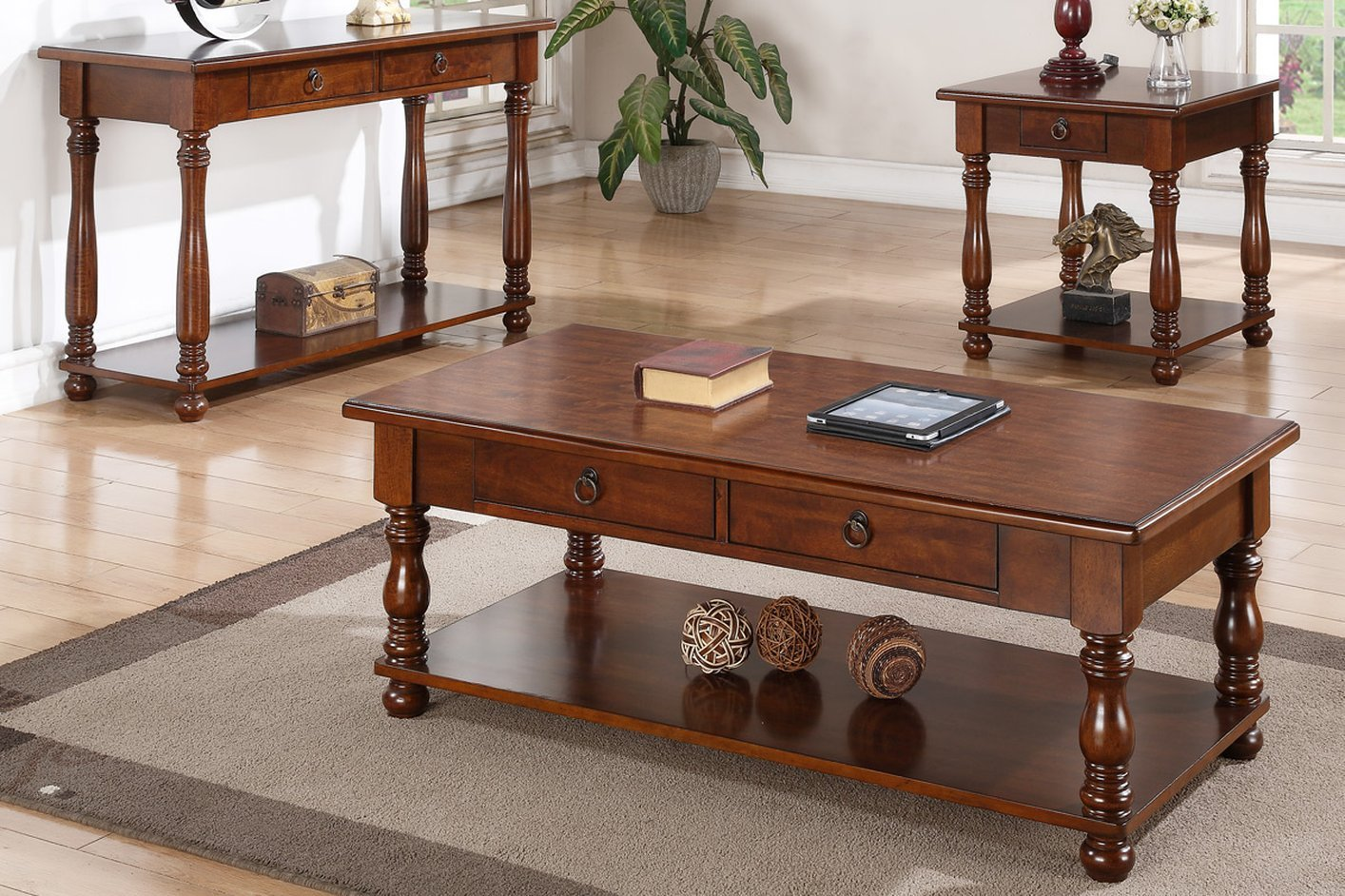 Brown Wood Coffee Table Steal A Sofa Furniture Outlet