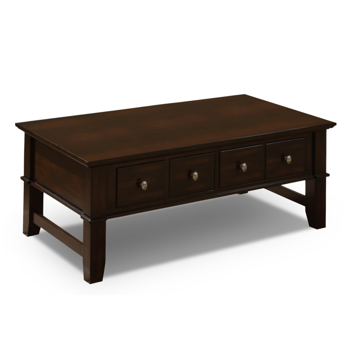 Brown Wood Coffee Table Steal A Sofa Furniture Outlet Los Angeles Ca