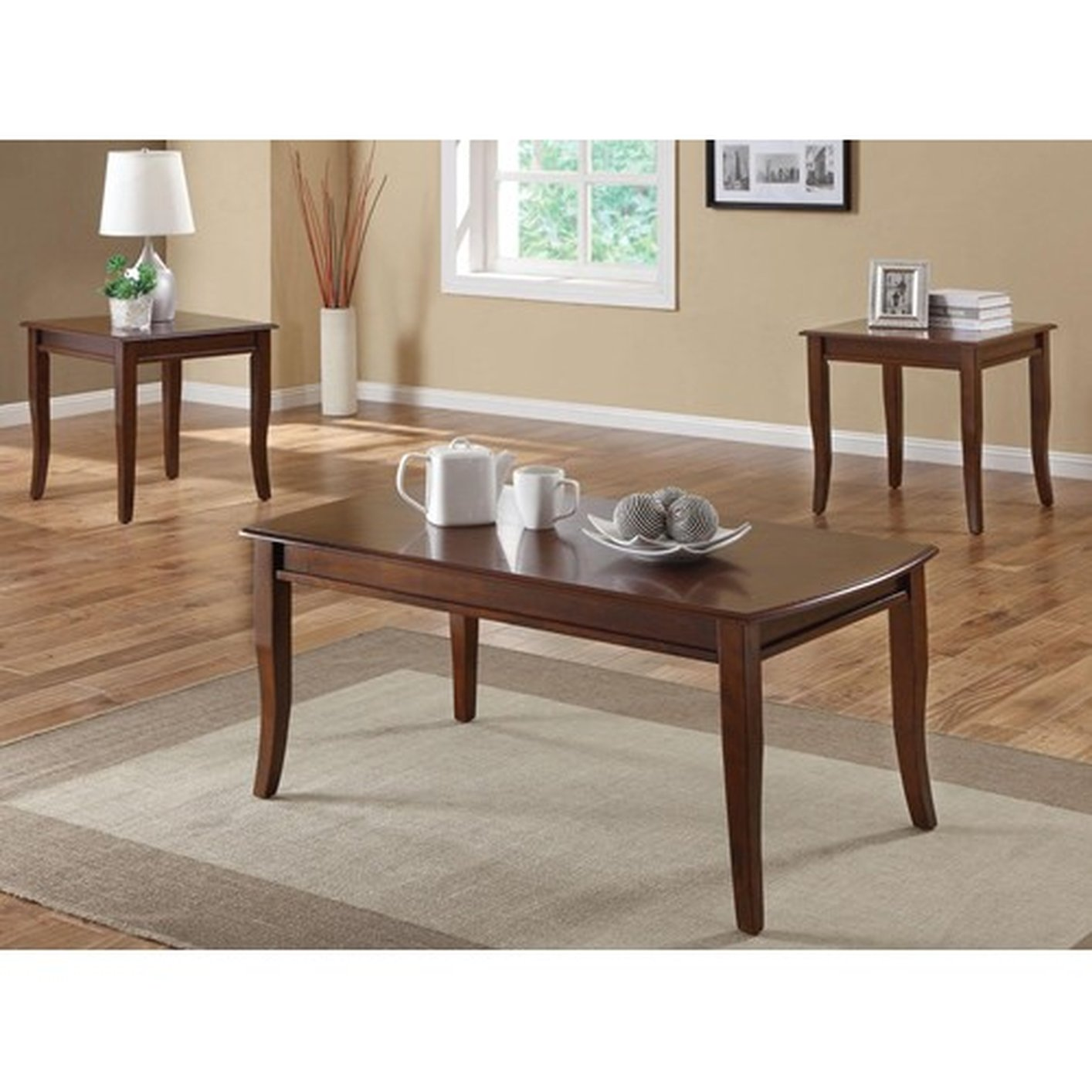 Coaster 701603 Brown Wood Coffee Table Set Steal A Sofa Furniture Outlet Los Angeles Ca