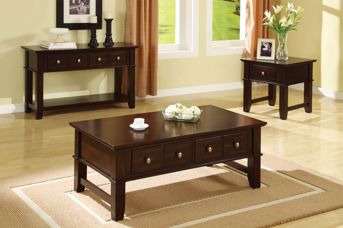brown wood console table  stealasofa furniture outlet