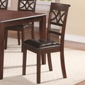 Red Wood Dining Chair