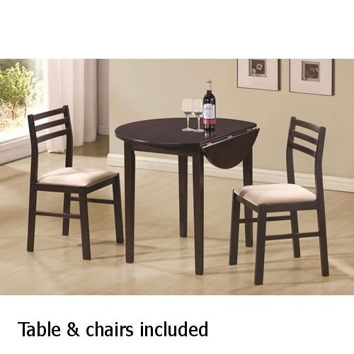 Brown Wood Dining Table And Chair Set