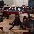 Brown Wood Game Table