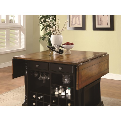 kitchen island wood table top cherry brown