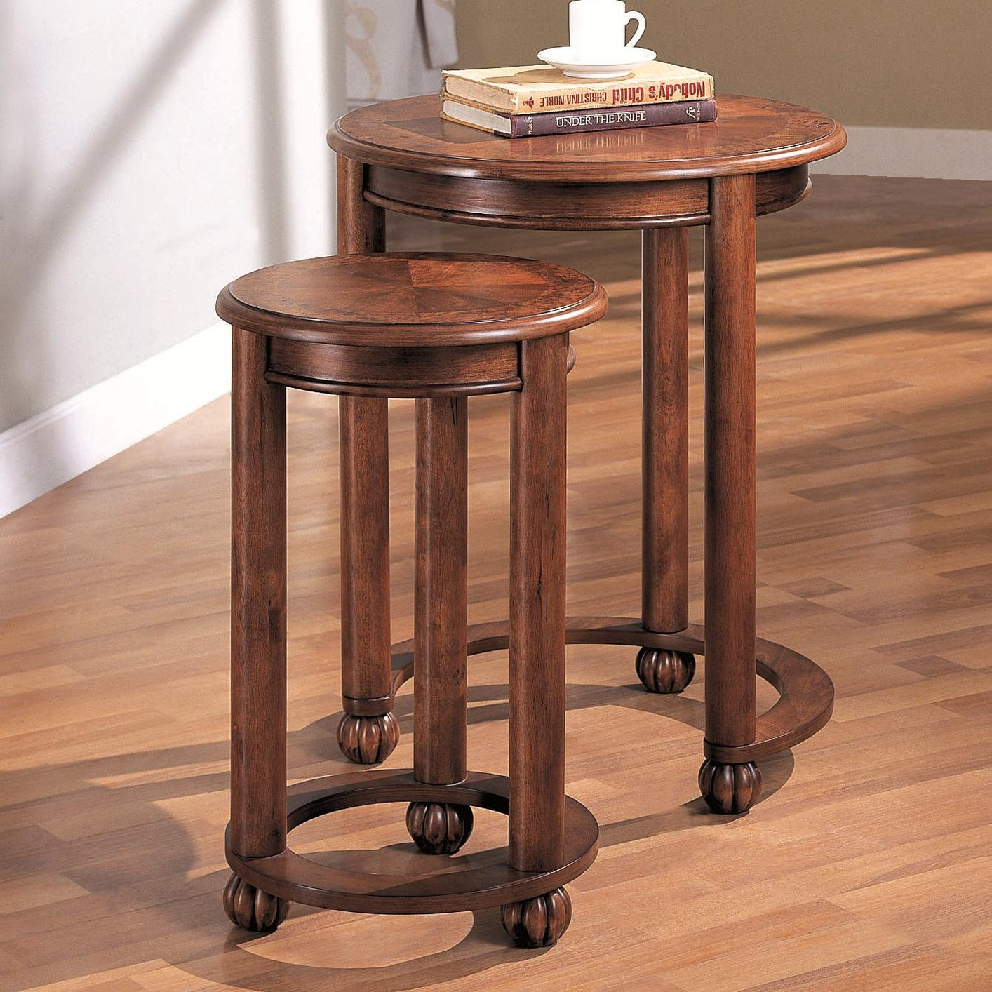 Brown Wood Nesting Table Steal A Sofa Furniture Outlet