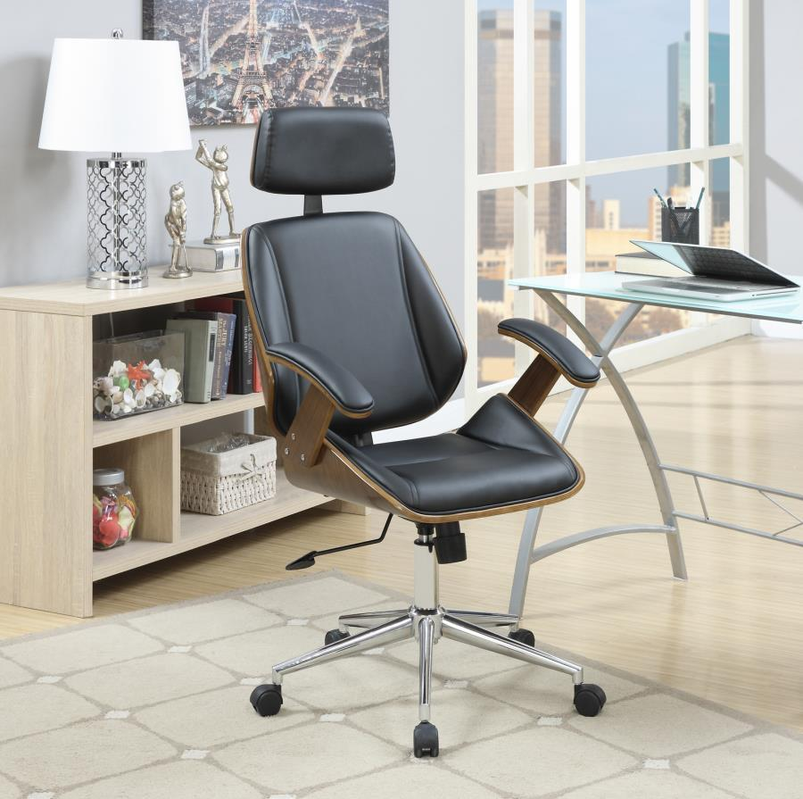 Brown Wood Office Chair Steal A Sofa Furniture Outlet