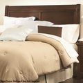 Brown Wood Queen or Full Size Headboard