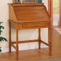 Brown Wood Secretary Desk