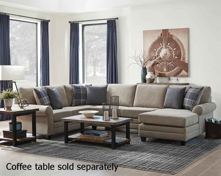 Brown Wood Sectional Sofa : wood sectional - Sectionals, Sofas & Couches